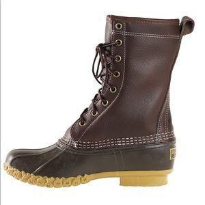 LL Bean Duck Boots 8 Brown GUC